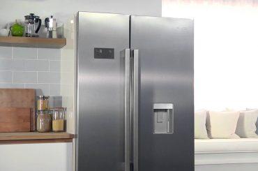 Defrosting American firdge freezer