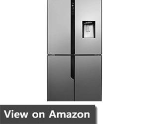 Hisense FMN431W20C Freestanding A+ Rated American Fridge Freezer