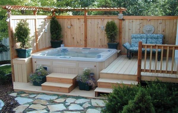 Hot Tub Wall