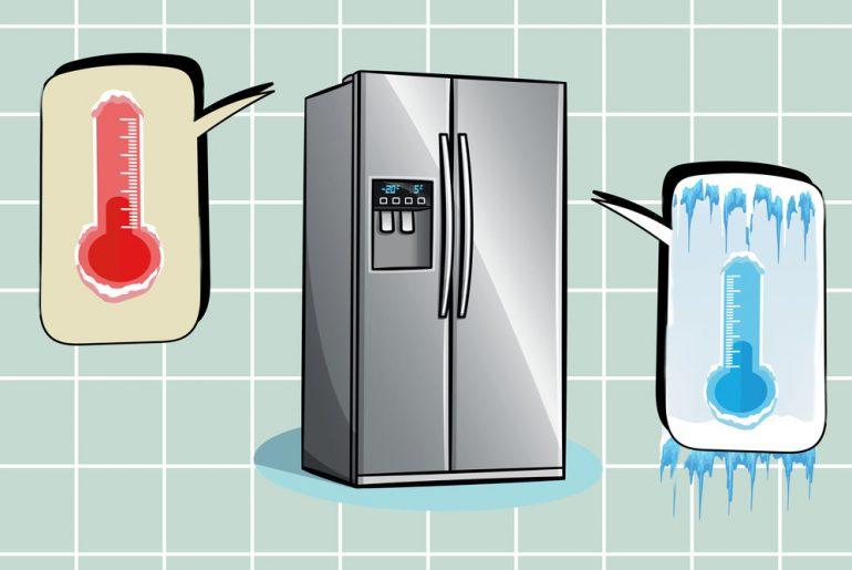 american frdge freezer temprature