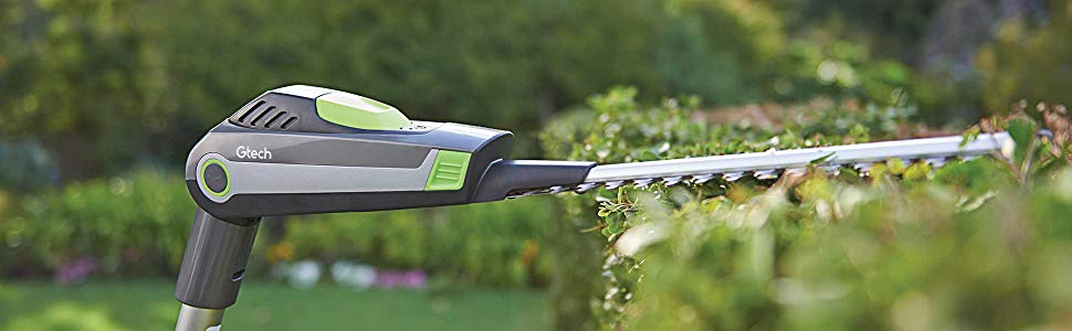 Cordless freedom in Gtech Hedge Trimmer
