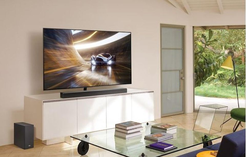 soundbar with tv